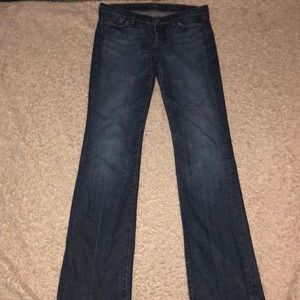 7 for all mankind bootcut Jeans Size 30 x 36 Long